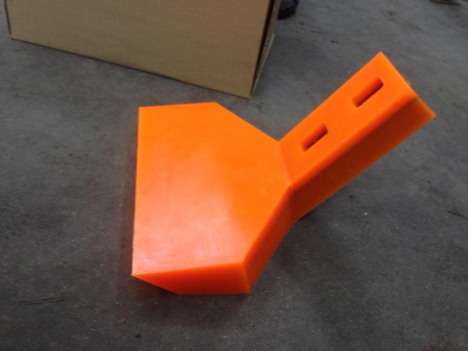 Лопатки для бетоносмесителей