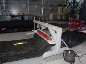 Ремонт конвейерных лент методом горячей вулканизации